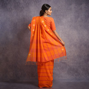 Cotton Jamdani Saree