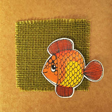 Load image into Gallery viewer, Note Book - Gold Fish