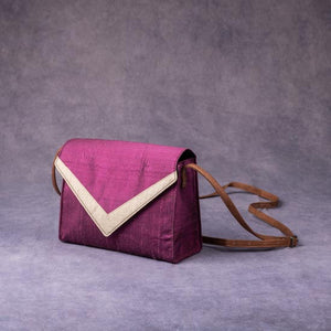 Silk Cross Body Bag