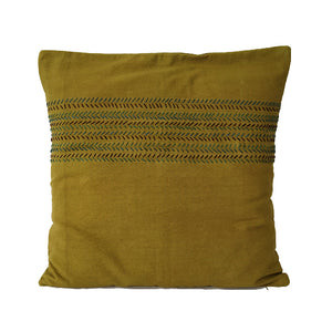 Fish Bone Design Cushion Cover