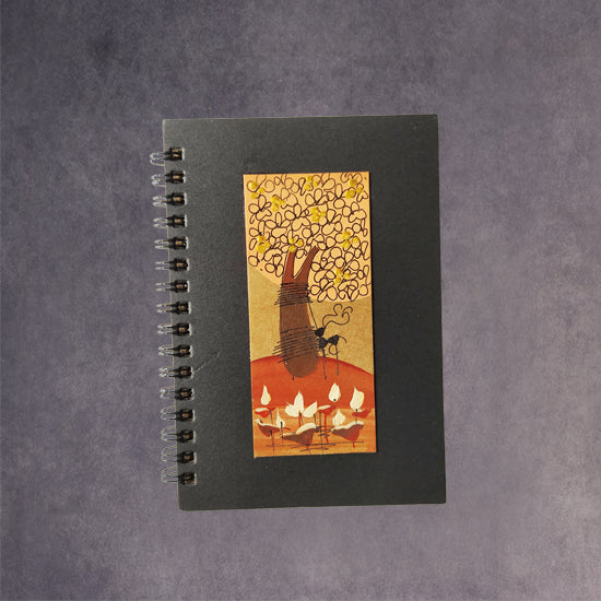 Spiral Note Book-Tree