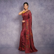 Load image into Gallery viewer, Kantha Embroidery Saree