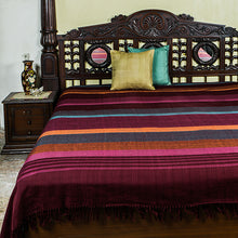 Load image into Gallery viewer, Handloom Bedcover