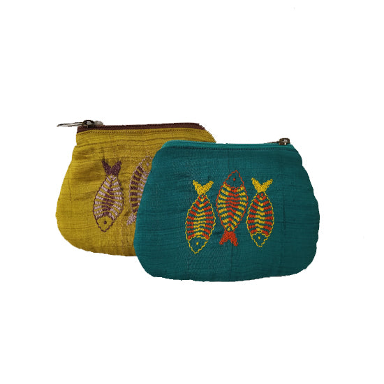 Pouch -Fish Design