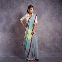 Load image into Gallery viewer, Cotton Ombre Saree
