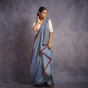 Cotton Ombre Saree