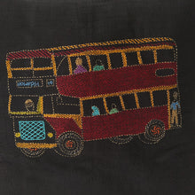Load image into Gallery viewer, Double Decker Bus Design Cushion Cover