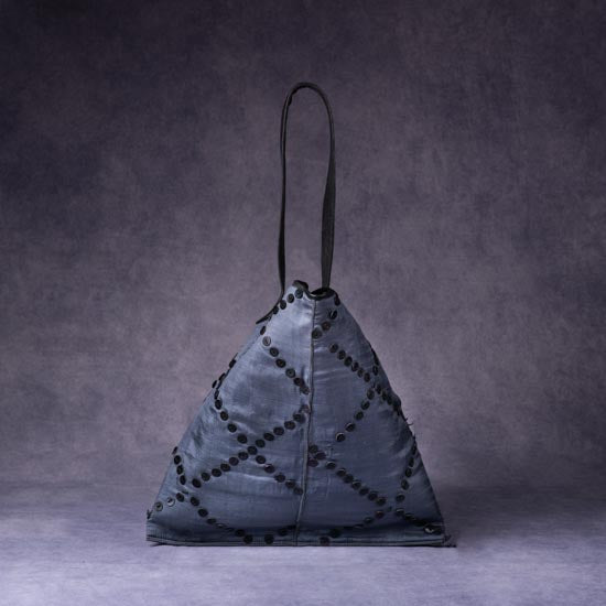 Silk Triangle Bag