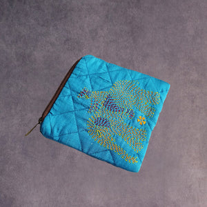 Kantha Purse