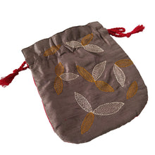 Load image into Gallery viewer, Embroidery Silk Batua Bag