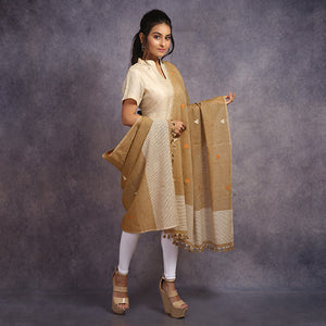 Cotton Jamdani Dupatta