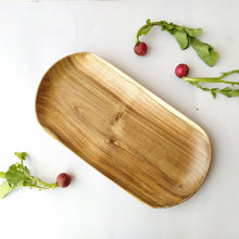 Load image into Gallery viewer, Wooden Oval Tray