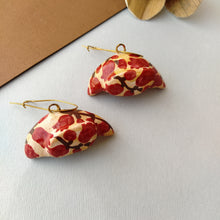 Load image into Gallery viewer, Papier Mache Earring & Pendent-Set