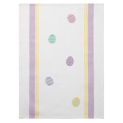 Falling Easter Egg Towel