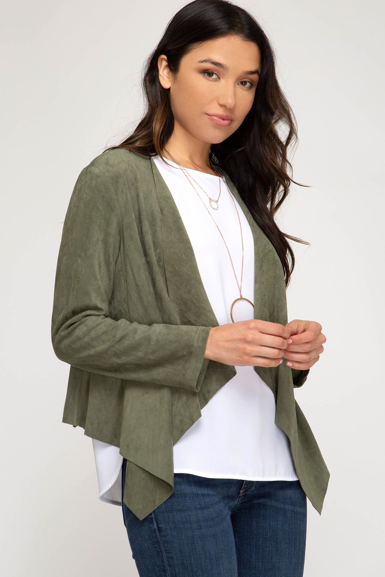 Tally Ultra Suede Jacket