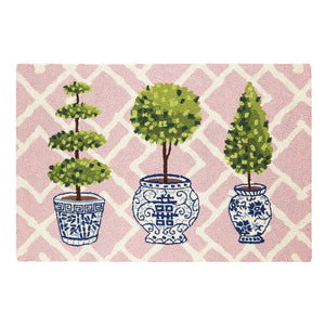 Topiary Collection Hook Rug
