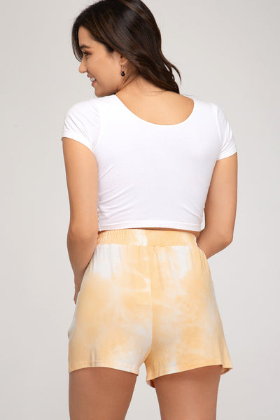 Honey Tie-Dye Short