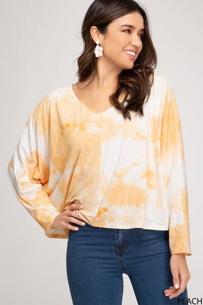 Honey Tie-Dye Top
