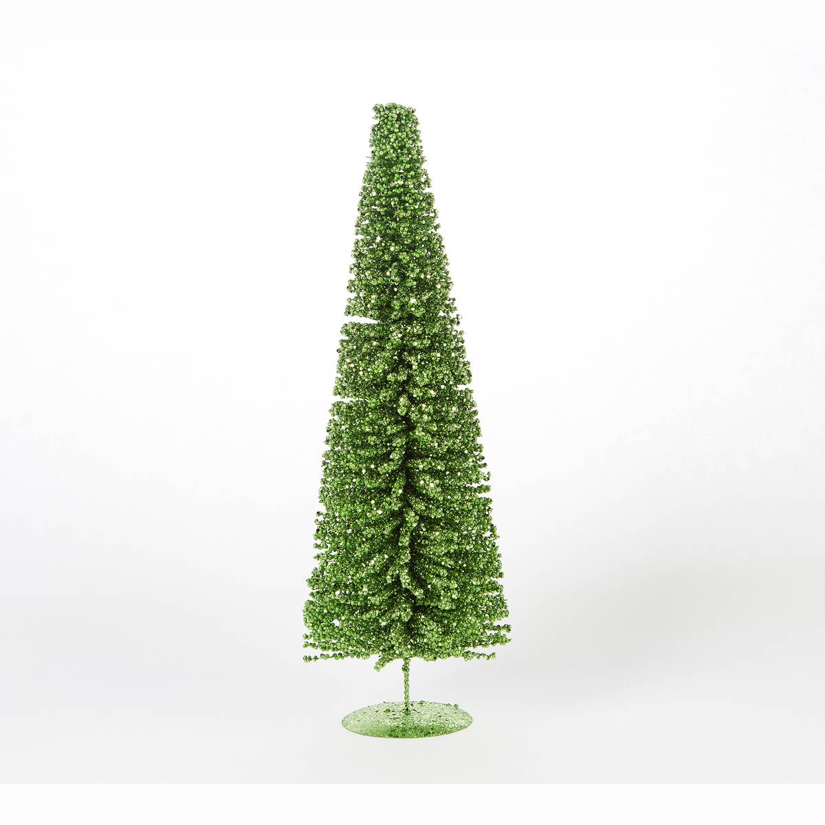 Large Green Glitter Tree