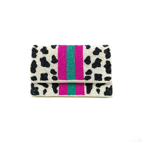 Bold Leopard Mini Clutch