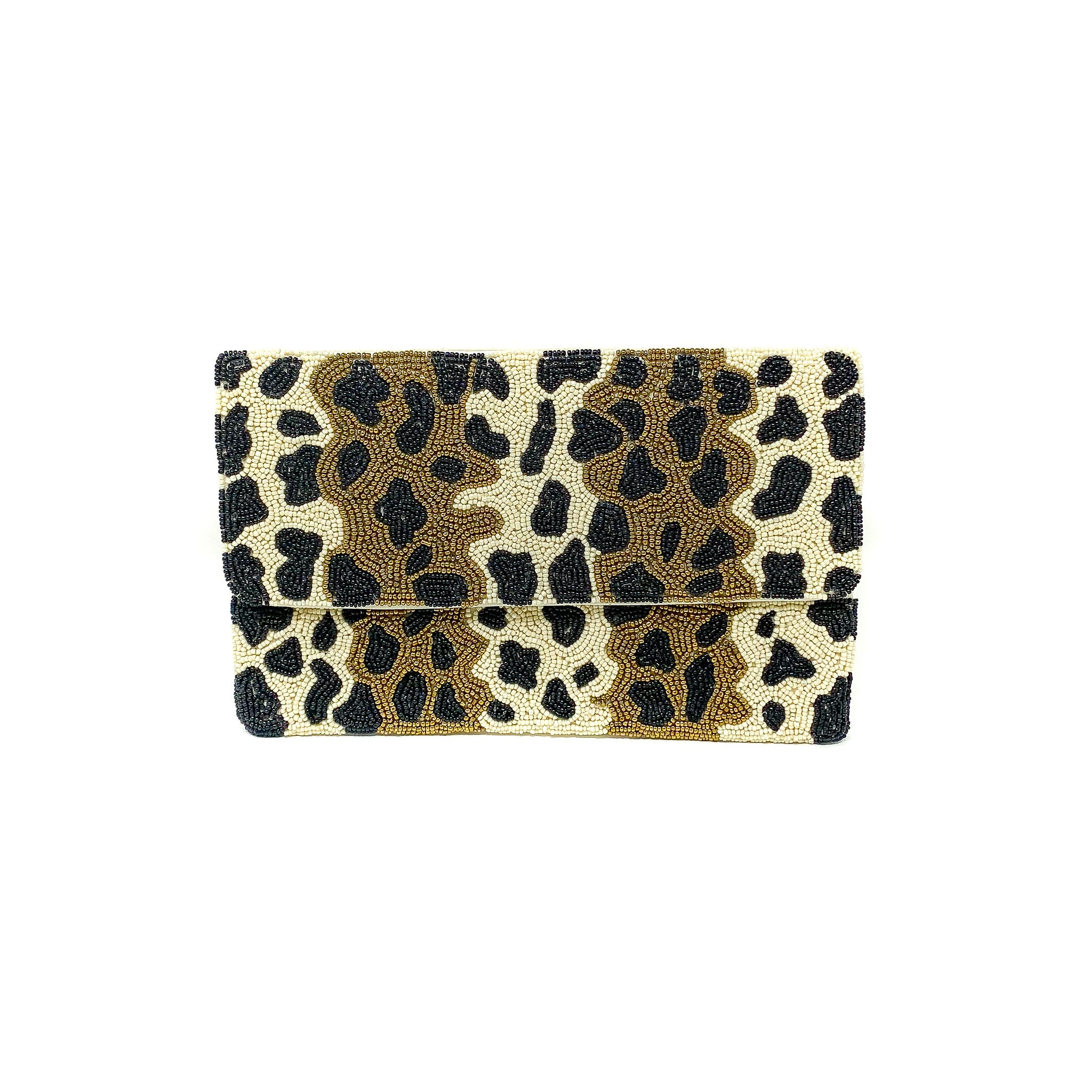 Golden Animal Clutch