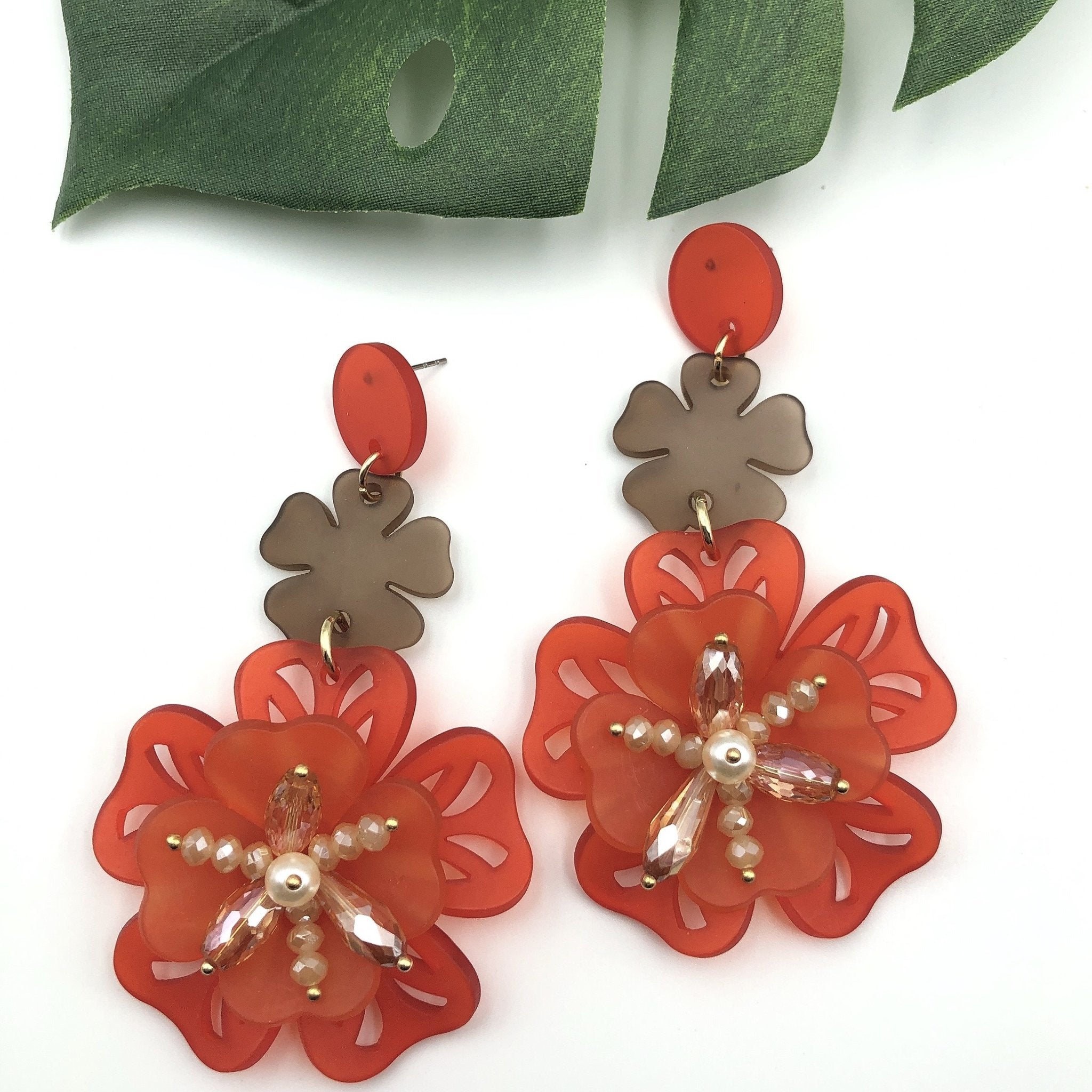 Nicola Flower Earrings