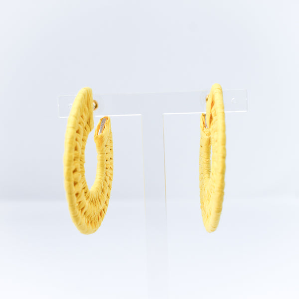Raffia Wrap Earrings