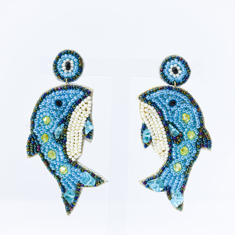 Dolly Dolphin Earring