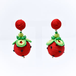 Strawberry Fields Statement Earrings