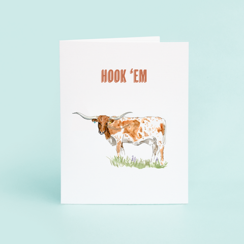 Hook'em, Longhorn - Single Card