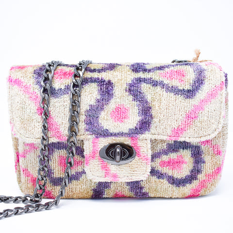 The Coco Lilac Cross Bag