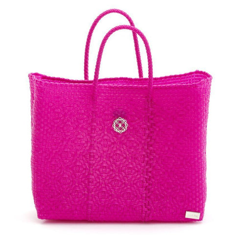 Lola's Small Tote, Hot Pink