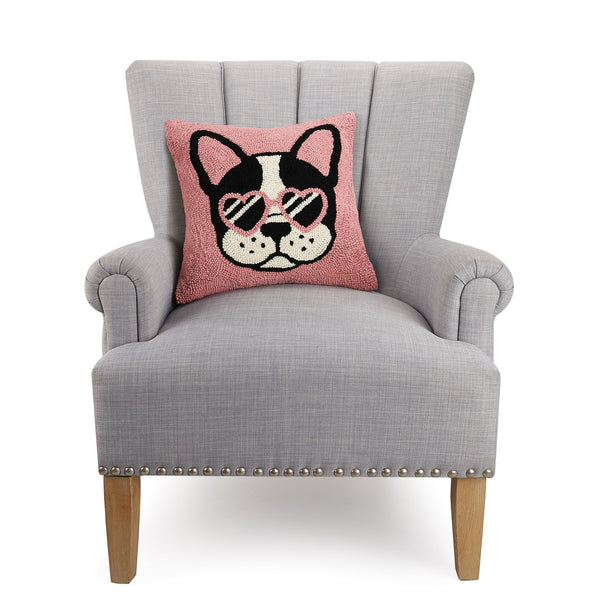 Cool French Bulldog Pillow