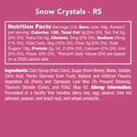 Snow Crystals Gummy Candy