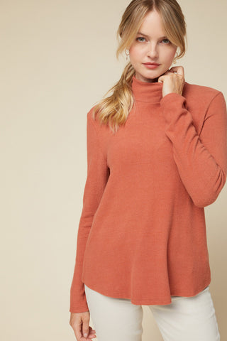 Hazel Pumpkin Top