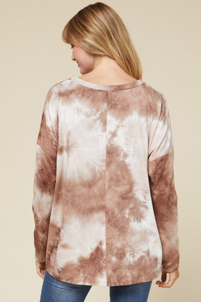 Lindy Tie-Dye Top Buff