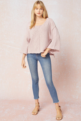 Harriet Knit Top Blush