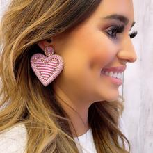 Amoure Pink Earrings