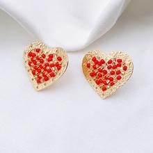 Red Heart Stud