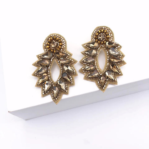 Spike Golden Earrings