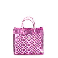 Lola's Small Tote, Pink Aztec