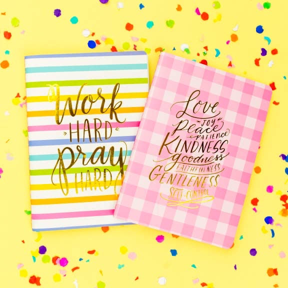 Pray Hard Note Book Set