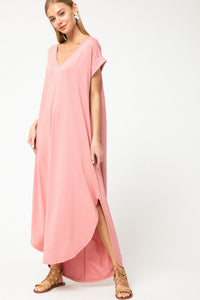 Chloe Pale Pink Maxi
