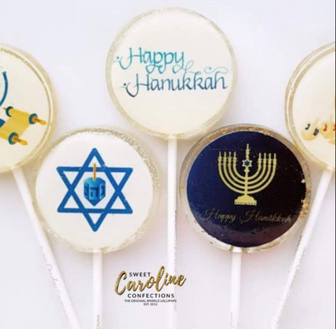 Hanukkah Marshmallow Lolly