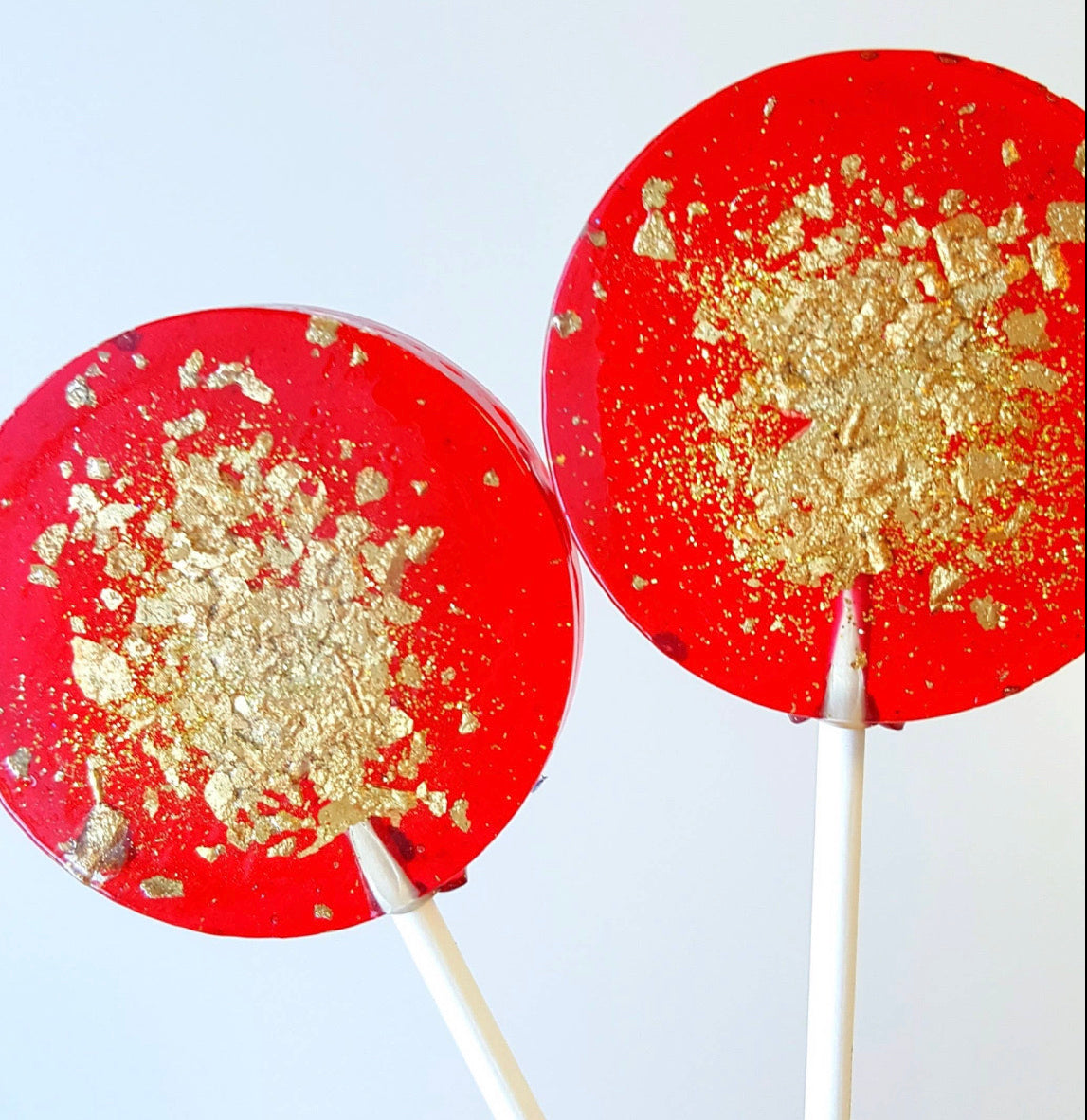 Red & Gold Passion Fruit Lolly