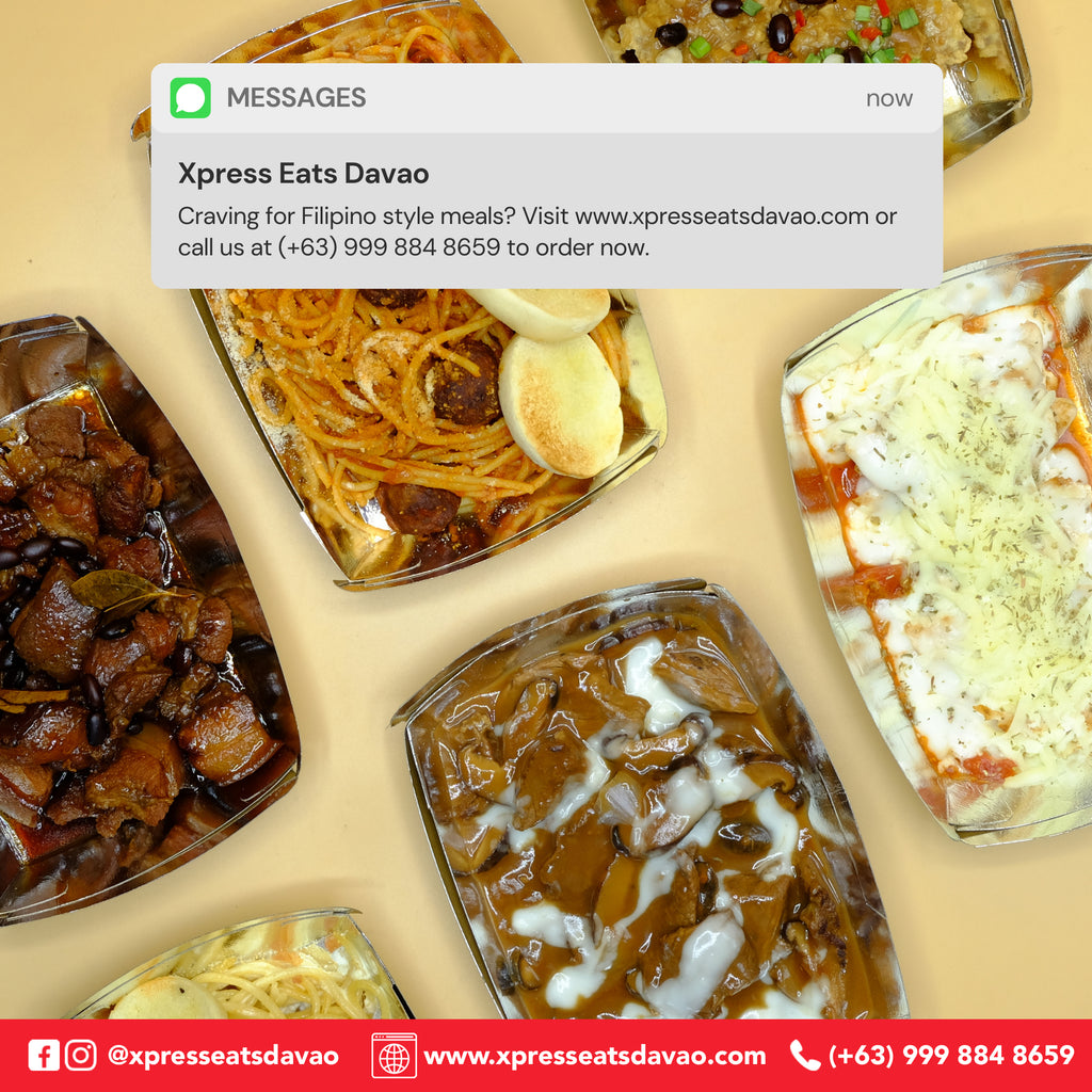 At Xpress Eats Davao, we value local.