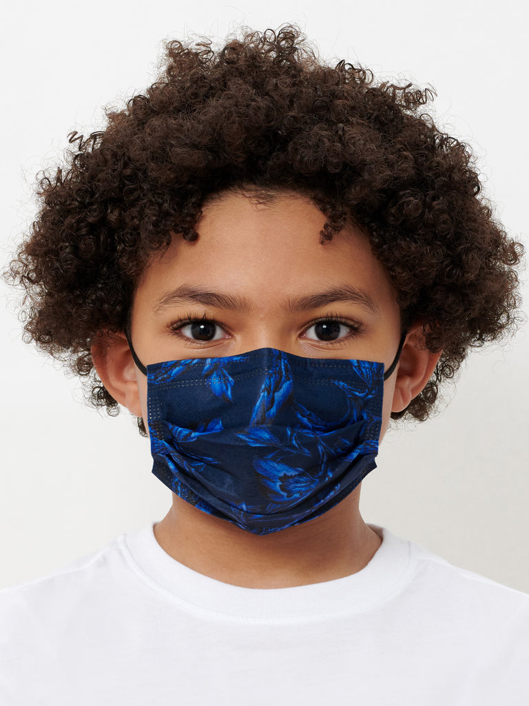 Kids' Indigo Iris Mask