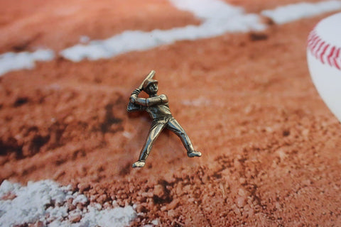Baseball Player Lapel Pin