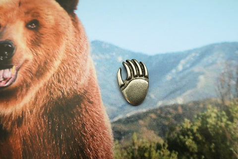 Bear Claw Lapel Pin