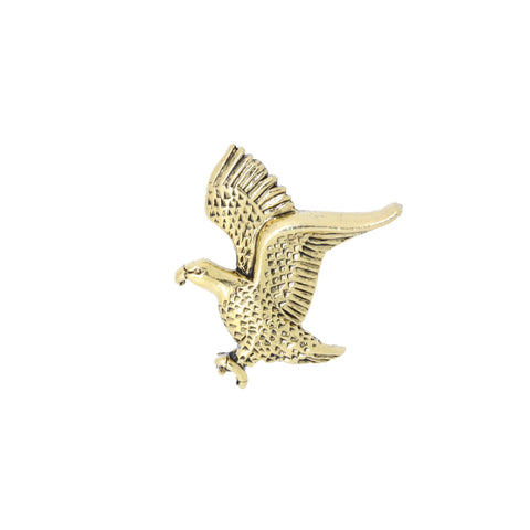 Bald Eagle Gold Lapel Pin